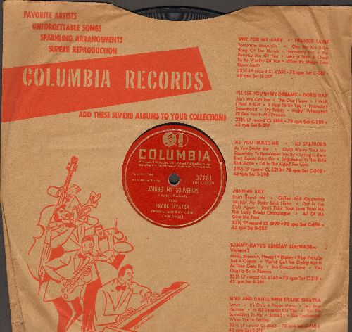 Sinatra, Frank - September Song/Among My Souvenirs (10 inch 78 rpm record) - G5/ - 78 rpm