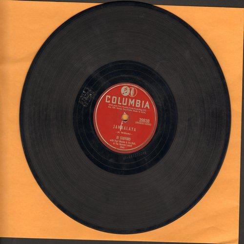 Stafford, Jo - Jambalaya/Early Autumn (10 inch 78 rpm record) - VG7/ - 45 rpm Records