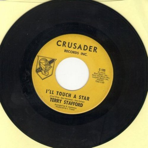 Stafford, Terry - I'll Touch A Star/Playing With Fire  - EX8/ - 45 rpm Records