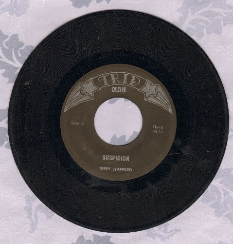 Stafford, Terry - Suspicion/This Time (by Troy Shondell on flip-side) (re-issue) - EX8/ - 45 rpm Records