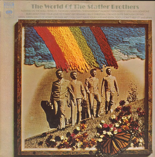 Statler Brothers - The World Of The Statler Brothers: Flowers On The Wall, King Of The Road, There Goes My Everything, Billy Christian (2 vinyl STEREO LP record) - NM9/EX8 - LP Records