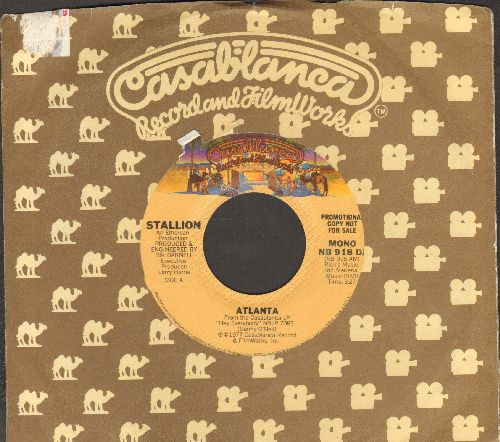 Stallion - Atlanta (double-A-sided DJ advance pressing with Casablanca company sleeve) - EX8/ - 45 rpm Records