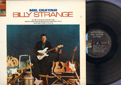 Strange, Billy - Mr. Guitar: Deep Purple, 500 Miles, Washington Square, Dominique, Kansas City (Vinyl STEREO LP record) - NM9/EX8 - LP Records