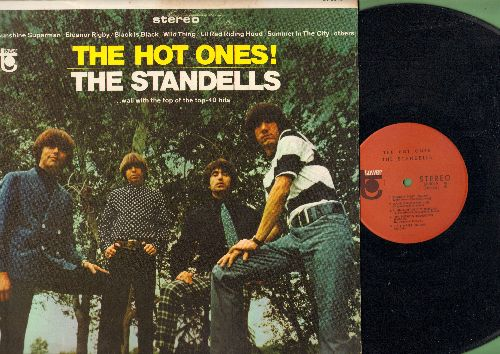Standells - The Hot Ones!: Sunshine Superman, Eleanor Rigby, Black Is Black, Wild Thing, Summer In The City, Dirty Water (vinyl STEREO LP record) - EX8/EX8 - LP Records