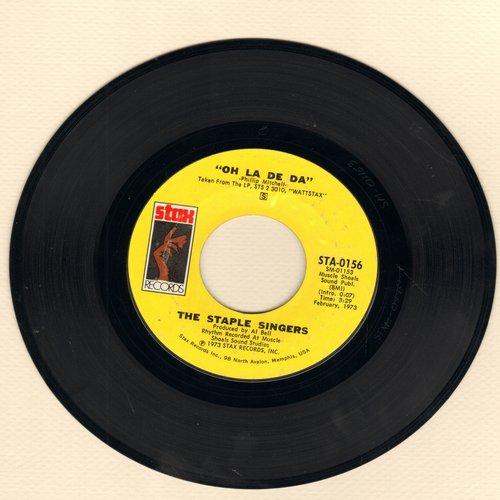 Staple Singers - Oh La De Da/We The People - NM9/ - 45 rpm Records
