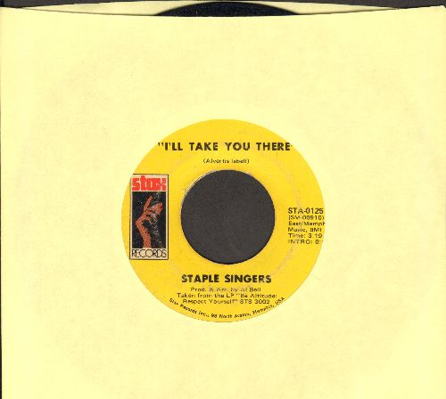 Staple Singers - I'll Take You There/I'm Just Another Soldier - VG7/ - 45 rpm Records