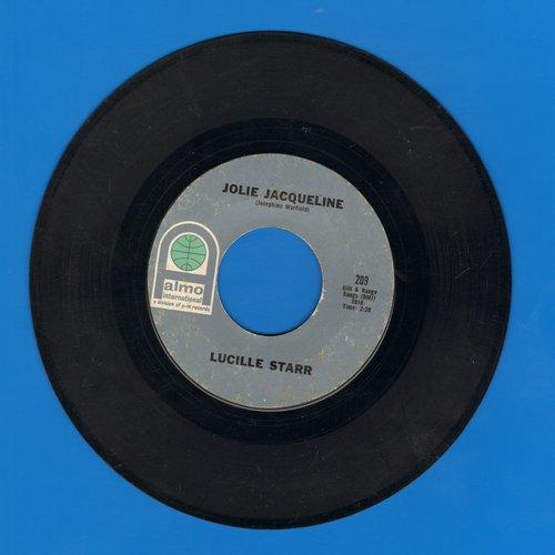 Starr, Lucille - Jolie Jaqueline/Yours (bb) - EX8/ - 45 rpm Records