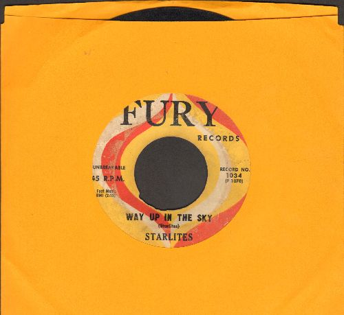 Starlites - Valarie/Way Up In The Sky (wol) - VG6/ - 45 rpm Records
