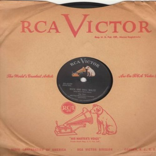 Starr, Kay - Rock And Roll Waltz (78) /I've Changed My Mind A Thousand Times (10 inch 78 rpm record with vintage RCA company sleeve) - EX8/ - 78 rpm