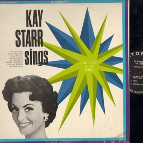 Starr, Kay - Kay Starr Sings: Them There Eyes, Ain't Misbehavin', Honey (Vinyl MONO LP record) - NM9/EX8 - LP Records