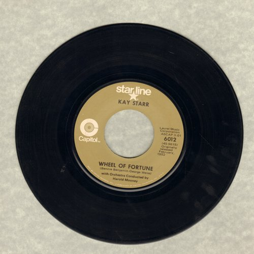 Starr, Kay - Wheel Of Fortune/Side By Side (re-issue) - EX8/ - 45 rpm Records