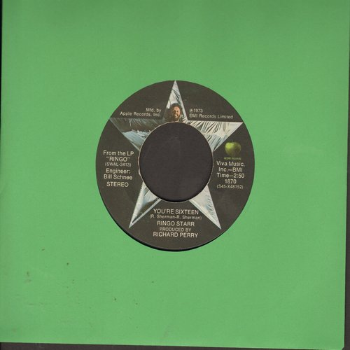 Starr, Ringo - You're Sixteen/Devil Woman  - EX8/ - 45 rpm Records