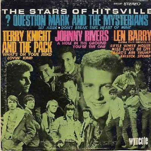 Question Mark & The Mysterians, Terry Knight & The Pack, Dovells, Len Barry, Johnny Rivers - The Stars Of Hitsville: Bristol Stomp, Set Aside, Don't Break This Heart Of Mine, You're The One, Miss Daisy De Lite (Vinyl STEREO LP record) - EX8/EX8 - LP Recor