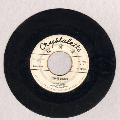 Stark, Johnny - Teenage Lovers/Waitin' (DJ advance copy) - VG7/ - 45 rpm Records