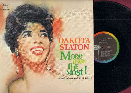 Staton, Dakota - More Than The Most!: September In The Rain, It's You Or No One, Love Walked In, High On A Windy Hill (MONO LP record, 1959 first pressing) - VG7/VG7 - LP Records