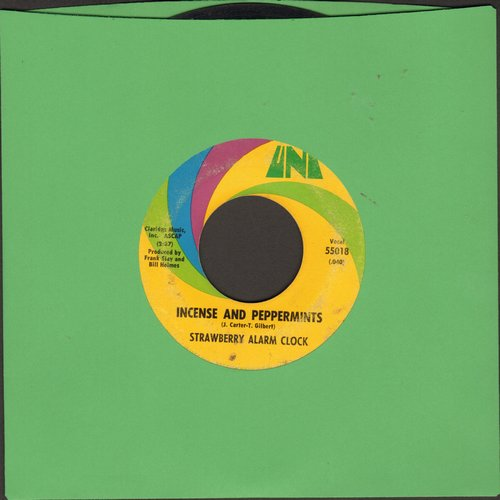Strawberry Alarm Clock - Incense And Peppermints/The Birdman Of Alkatrash (bb, wol) - VG7/ - 45 rpm Records
