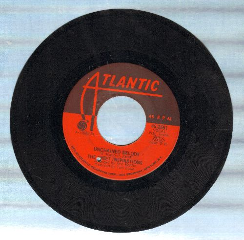 Sweet Inspirations - Unchained Melody/Am I Ever Gonna See My Baby Again (bb) - EX8/ - 45 rpm Records