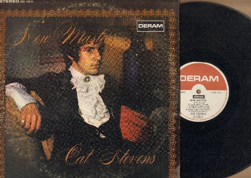 Stevens, Cat - New Masters: The First Cut Is The Deepest, Ceylon City, Kitty, Moonstone (Vinyl STEREO LP record) - EX8/VG7 - LP Records