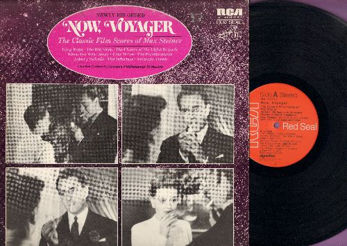 Steiner, Max - Now, Voyager/King Kong/The Informer/Johnny Belinda/The Big Sleep, More! - The Classic Film Scores Of Max Steiner - newly recorded (Vinyl STEREO LP record, Red Seal Label, SEALED, never opened!) - NM9/EX8 - LP Records