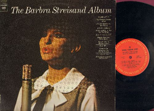Streisand, Barbra - The Barbra Streisand Album: Cry Me A River, A Taste Of Honey, Happy Days Are Here Again, Who's Afraid Of The Big Bad Wolf (Vinyl STEREO LP record) - NM9/EX8 - LP Records