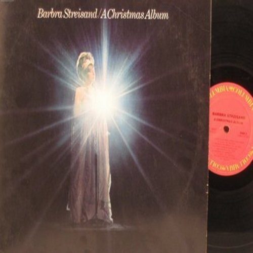 Streisand, Barbra - A Christmas Album: White Christmas, My Favorite Things, Have Yourself A Merry Little Christmas (Vinyl STEREO LP record) - EX8/EX8 - LP Records
