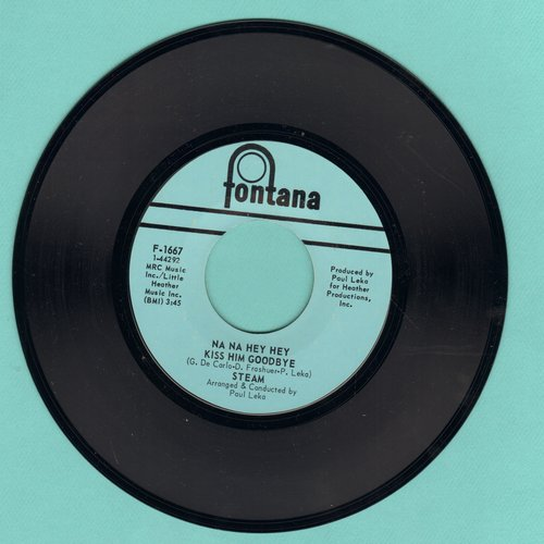 Steam - Na Na Hey Hey Kiss Him Goodbye/It's The Magic In You Girl - VG7/ - 45 rpm Records