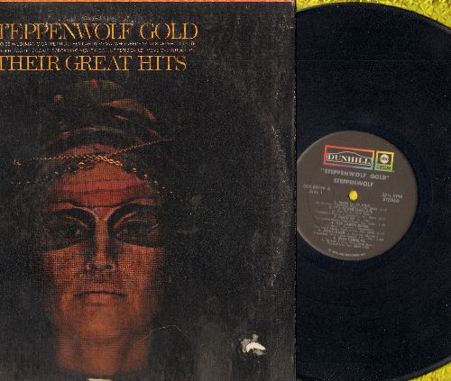 Steppenwolf - Steppenwolf Gold: Born To Be Wild, It's Never Too Late, Rock Me, Magic Carpet Ride, The Pusher (Vinyl STEREO LP record - NM9/VG7 - LP Records