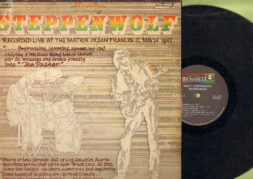 Steppenwolf - Early Steppenwolf: Power Play, Tighten Up Your Wig, Corina Corina, The Pusher (vinyl STEREO LP record) - VG7/VG6 - LP Records