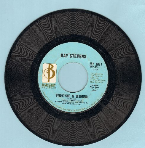 Stevens, Ray - Everything Is Beautiful/A Brighter Day - EX8/ - 45 rpm Records