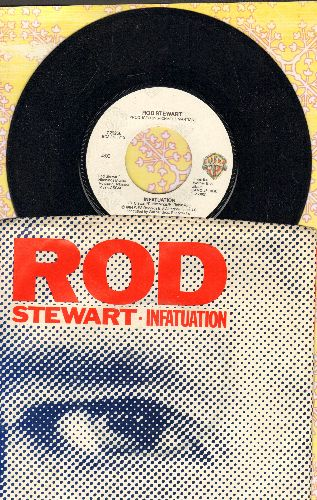 Stewart, Rod - Infatuation/She Won't Dance With Me (with picture sleeve) - NM9/EX8 - 45 rpm Records