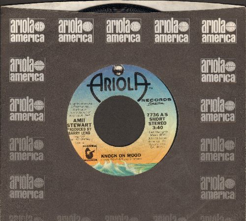 Stewart, Amii - Knock On Wood/When You Are Beautiful (with Ariola company sleeve) - EX8/ - 45 rpm Records