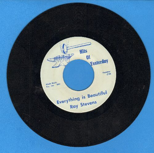 Stevens, Ray - Gitarzan/Everything Is Beautiful (double-hit re-issue) - EX8/ - 45 rpm Records