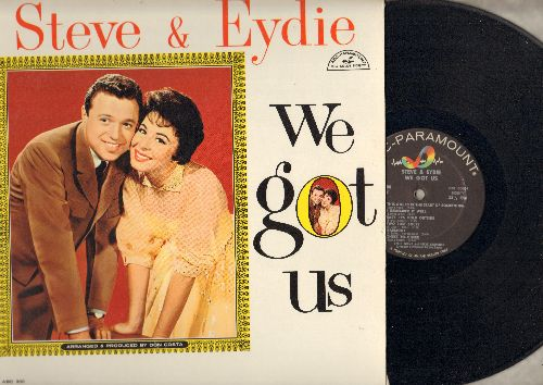 Lawrence, Steve & Eydie Gorme - We Got Us: Side By Side, Cheek To Cheek, Together, I Remember It Well, Baby It's Cold Outside, This Could Be The Start Of Something (Vinyl MONO LP record) - NM9/NM9 - LP Records