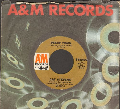 Stevens, Cat - Oh Very Young/100 I Dream (with A&M company sleeve) - EX8/ - 45 rpm Records