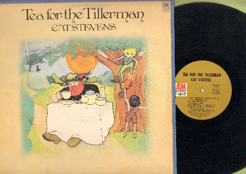 Stevens, Cat - Tea For The Tillerman: Wild World, Where Do The Children Play, Miles From Nowhere, Father & Son (Vinyl STEREO LP record) - VG7/VG7 - LP Records