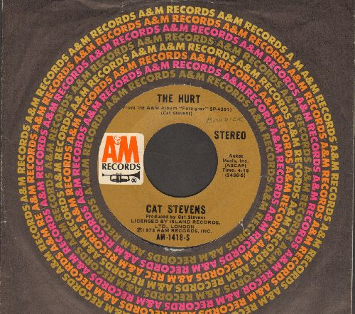 Stevens, Cat - The Hurt/Silent Sunlight (with A&M company sleeve) - VG7/ - 45 rpm Records