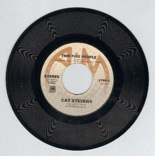 Stevens, Cat - Two Fine People/A Bad Penny - NM9/ - 45 rpm Records