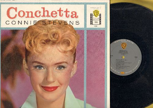 Stevens, Connie - Conchetta: Blame It On My Youth, Looking For A Boy, The Trolley Song, On A Slow Boat To China (vinyl MONO LP record, 1958 first prerssing, NICE condition!) - NM9/NM9 - LP Records