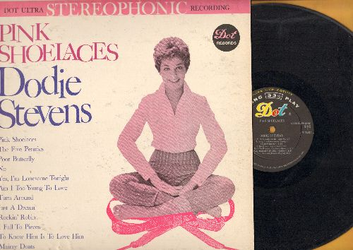Stevens, Dodie - Pink Shoelaces: The Five Pennies, Rockin' Robin, Mairzy Doats, I fall To Pieces, To Know Him Is To Love Him (vinyl STEREO LP record) - VG7/VG7 - LP Records