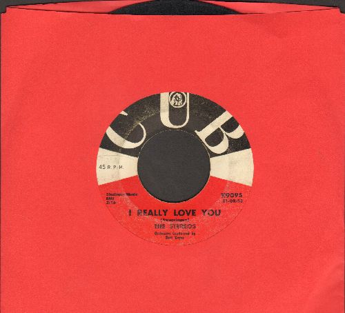 Stereos - I Really Love You/Please Come Back To Me (wol) - VG7/ - 45 rpm Records