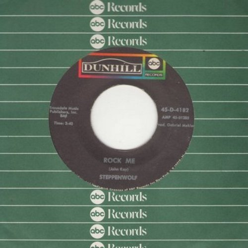 Steppenwolf - Rock Me/Jupiter Child (with ABC company sleeve) - EX8/ - 45 rpm Records