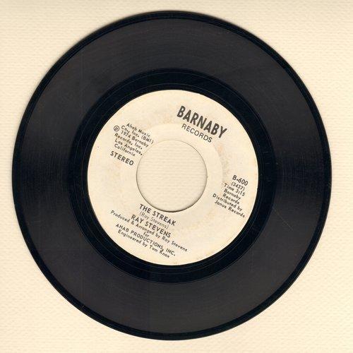 Stevens, Ray - The Streak/You've Got The Music Inside  - EX8/ - 45 rpm Records