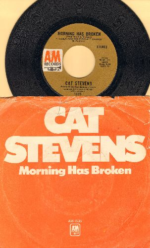 Stevens, Cat - Morning Has Broken/I Want To Live In A Wigwam (with picture sleeve) - NM9/VG6 - 45 rpm Records
