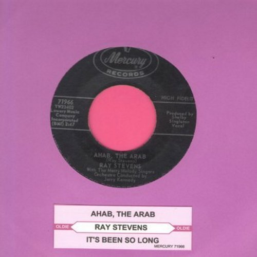 Stevens, Ray - Ahab, The Arab/It's Been So Long (with juke box label) - EX8/ - 45 rpm Records