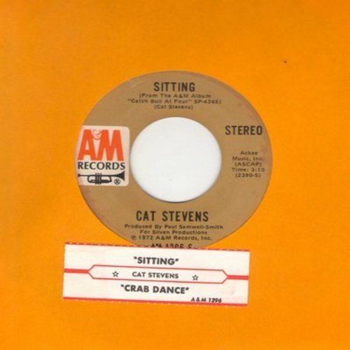 Stevens, Cat - Sitting/Crab Dance (with juke box label) - NM9/ - 45 rpm Records