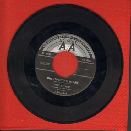 Stevens, Terri - Unsuspecting Heart/How Can I - EX8/ - 45 rpm Records