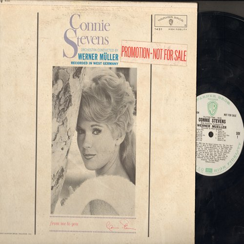 Stevens, Connie - Connie Stevens: Wild Is The Wind, The Long Hot Summer, My Own True Love, I've Got My Love To Keep Me Warm (Vinyl MONO LP record, DJ advance pressing, woc) - NM9/VG6 - LP Records