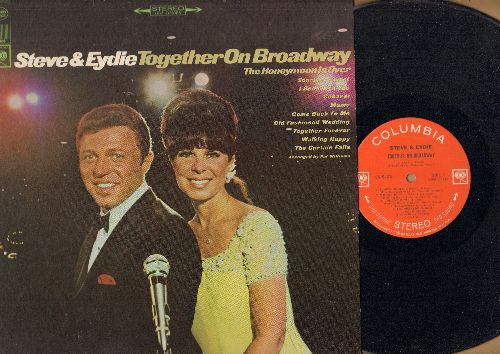 Lawrence, Steve & Eydie Gorme - Steve & Eydie Together On Broadway: Sunrise Sunset, Cabaret, Mame, Together Forever (Vinyl STEREO LP record - EX8/NM9 - LP Records