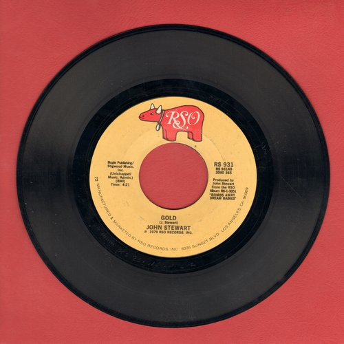 Stewart, John - Gold/Comin' Out Of Nowhere - NM9/ - 45 rpm Records