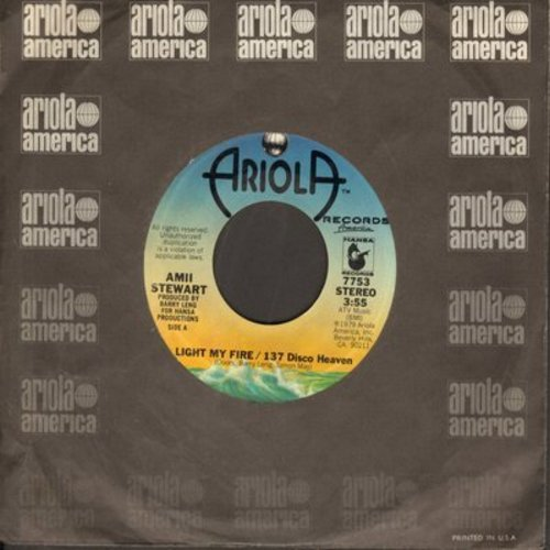 Stewart, Amii - Light My Fire/137 Disco Heaven/Am I Losing You - NM9/ - 45 rpm Records